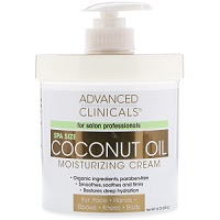 Advanced Clinicals Coconut Oil Moisturizing Cream Review
